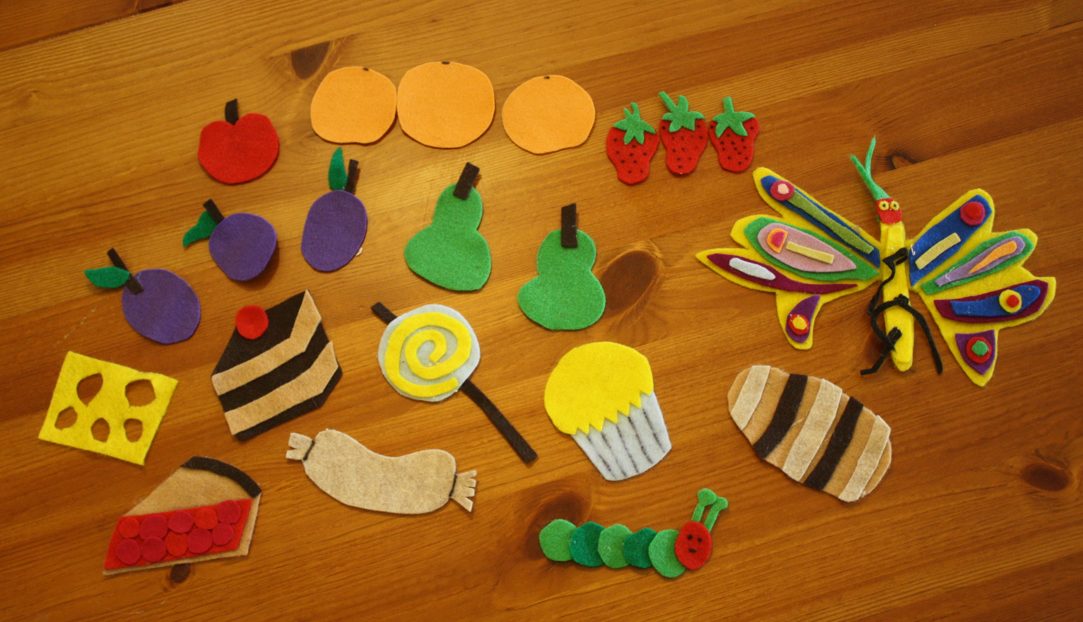 photograph relating to Printable Felt Board Stories known as Handmade Felt Discussion boards and Reviews - Buggy and Pal