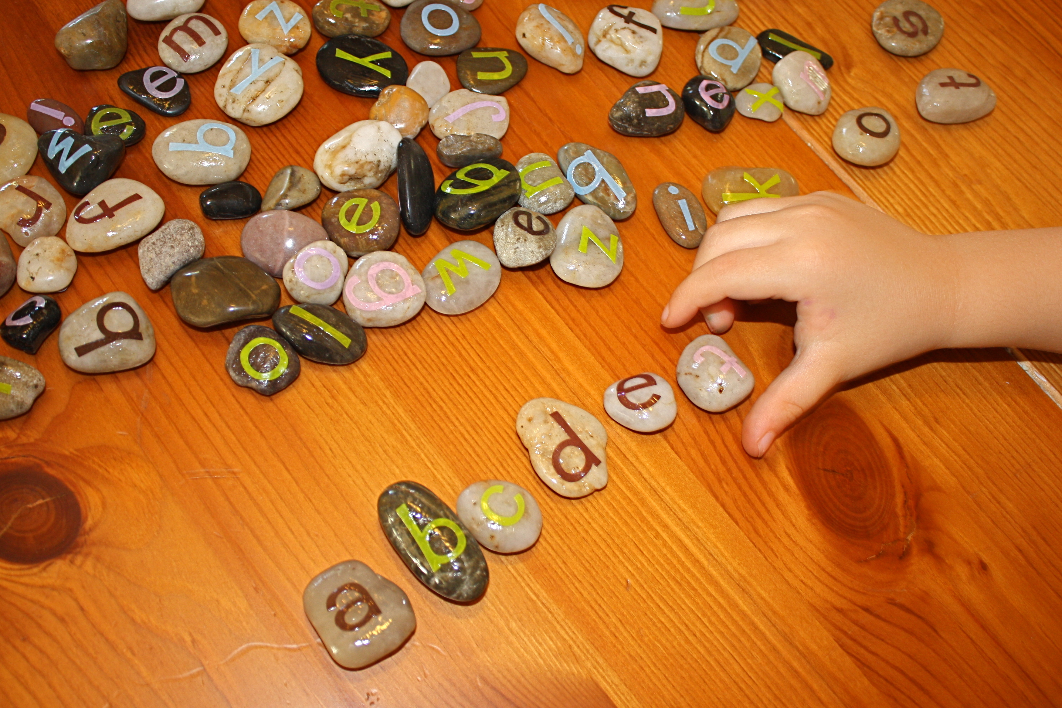 Letter Stones Reading Games