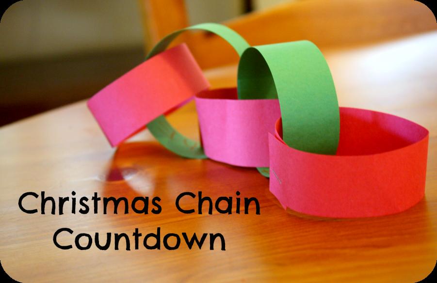 The Christmas Countdown Chain Buggy And Buddy