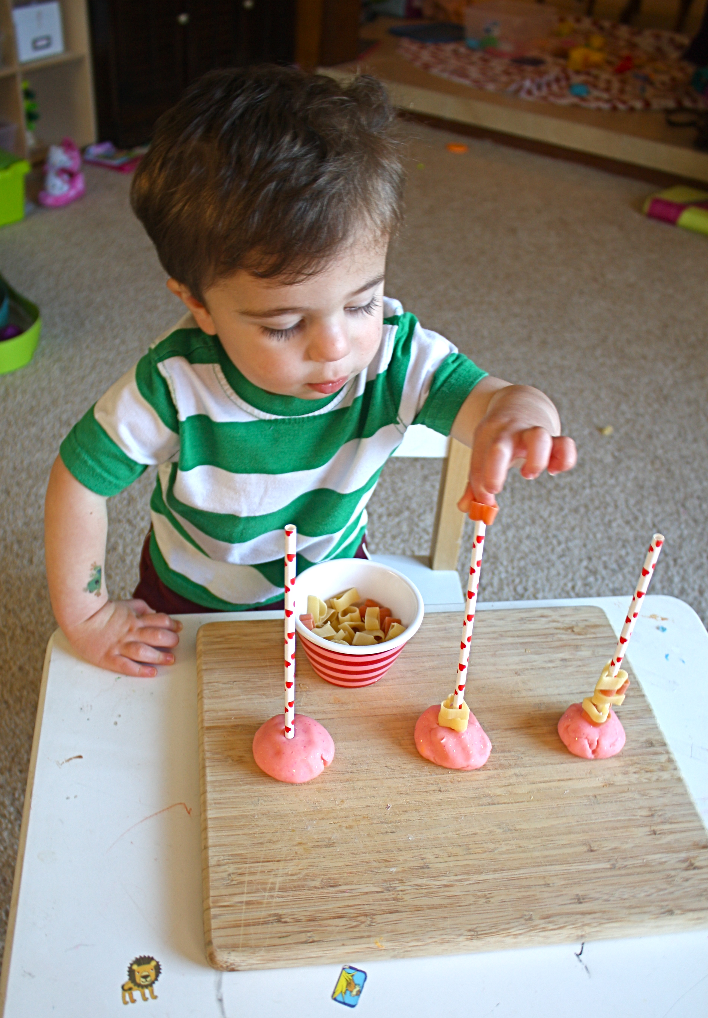 Toddler Activities Heart Themed Fine Motor Activity