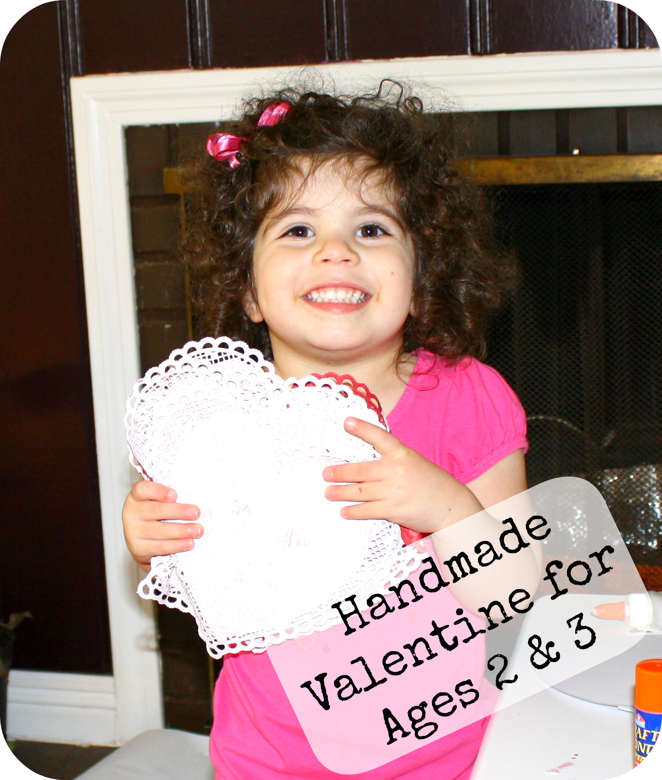 Valentines Made Completely By Your Child Easy Enough For A 2 Year